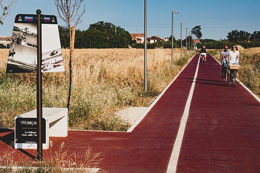 La bici è uno dei modi migliori per scoprire il territorio di Mondolfo Marotta (credit: Davide Caporaletti)
