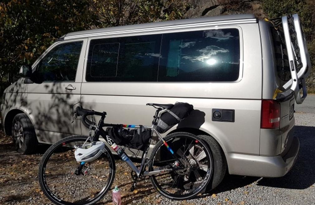 cicloturismo outdoor campeggio camper