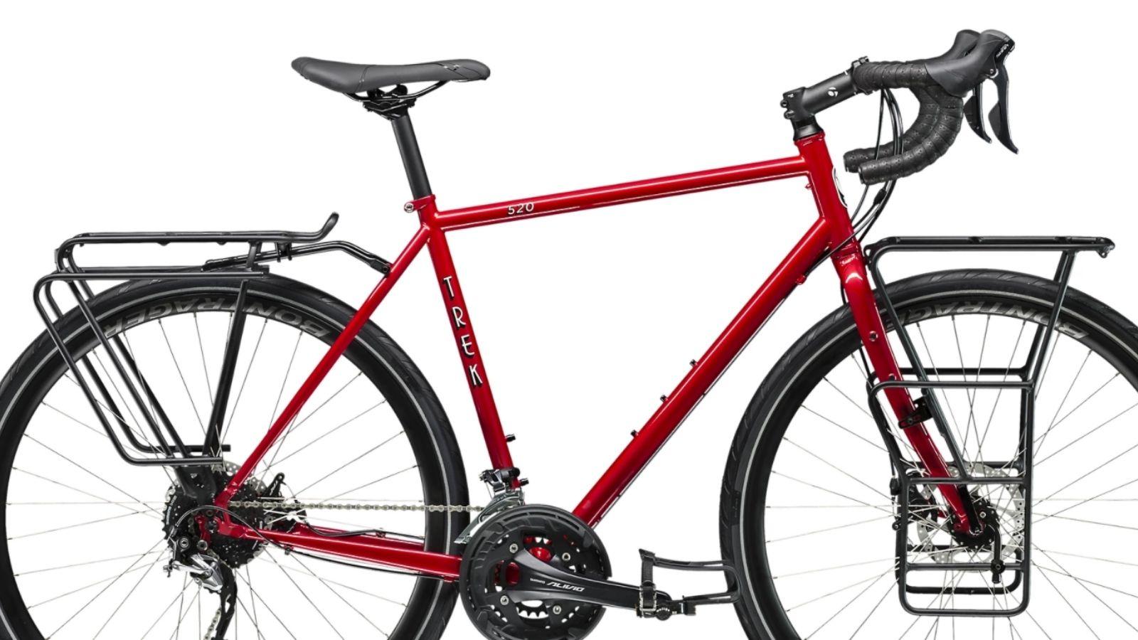 La bici da cicloturismo Trek 520 Disc