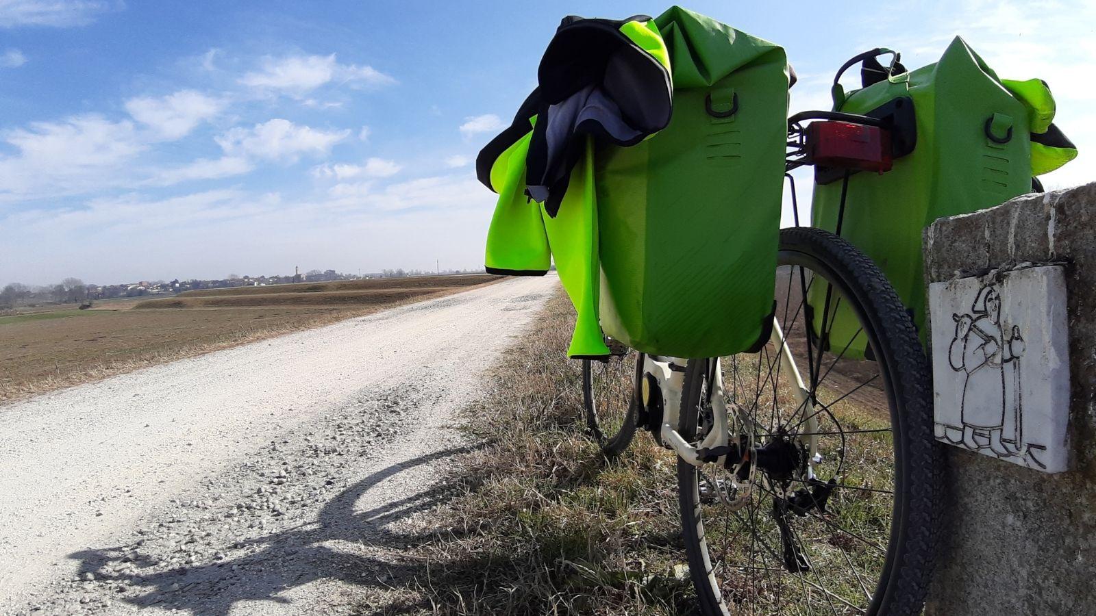 cicloturismo ebike via francigena