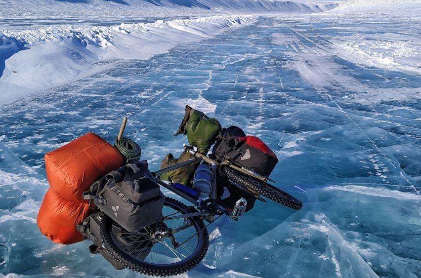 lorenzo barone cicloturismo siberia Una immagine del viaggio in Siberia (credit: Lorenzo Barone)