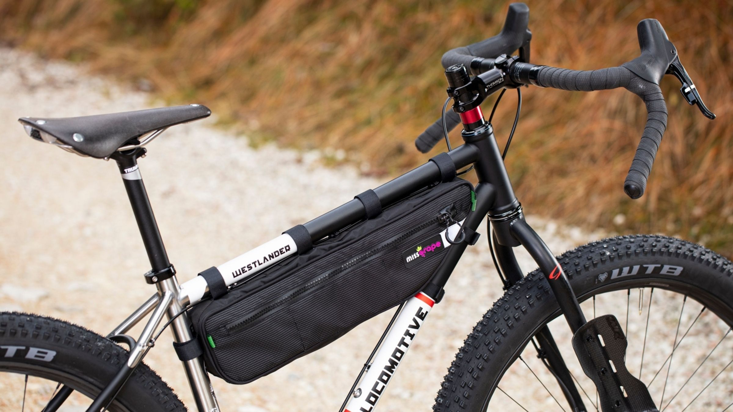 Borse cicloturismo bikepacking Miss Grape: Internode