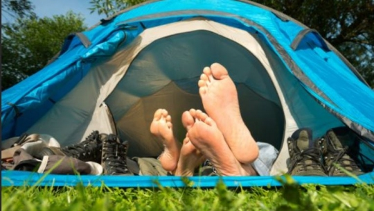 campeggio cicloturismo outdoor