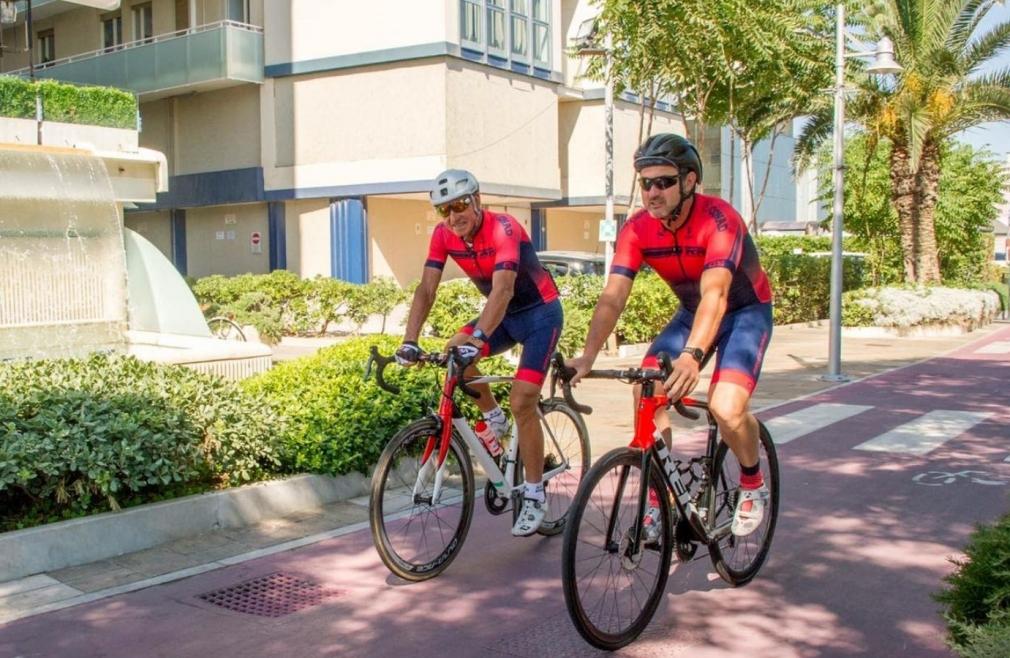 cicloturismo a riccione con moser
