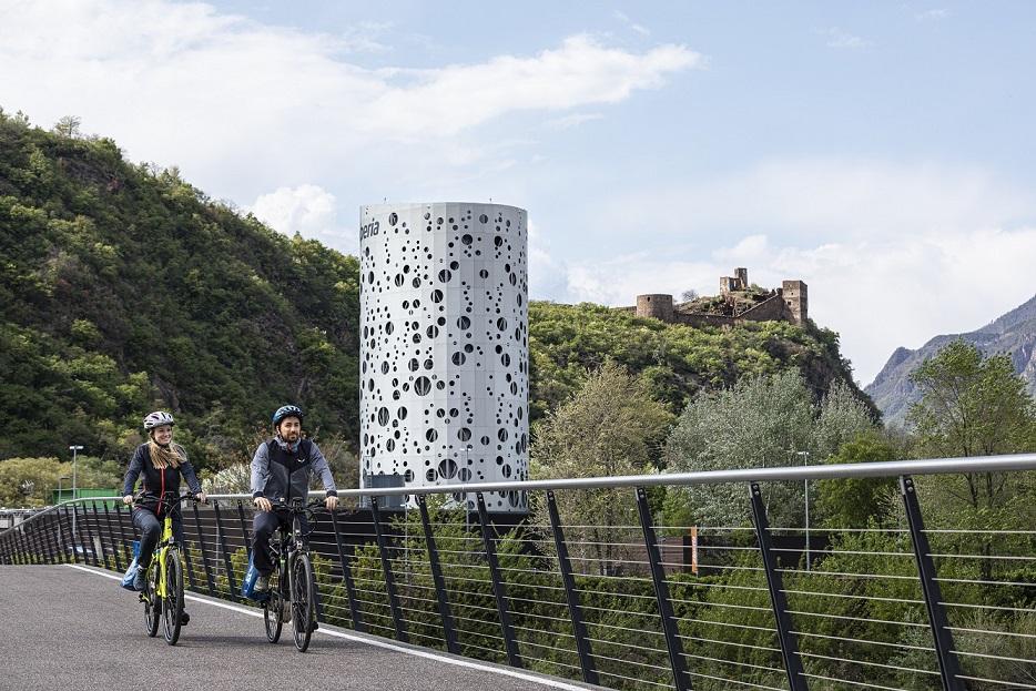 cicloturismo bolzano castel firmiano (credit: guadagnini)