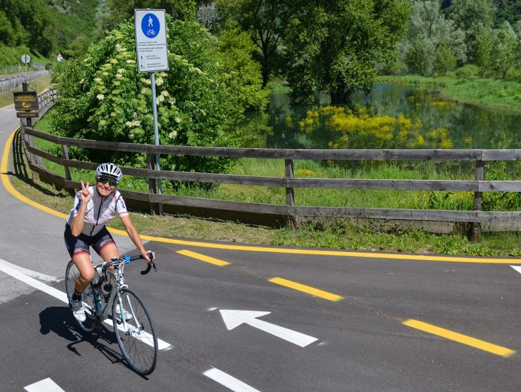 green road dell'acqua trentino ciclismo