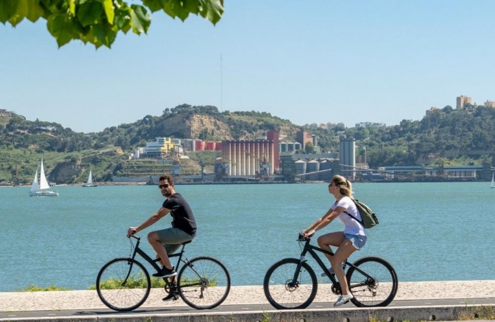Lisbona bicicletta