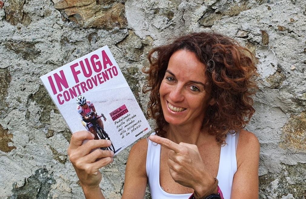 """Paola Gianotti presenta il suo nuovo libro """"In fuga controvento"""""""