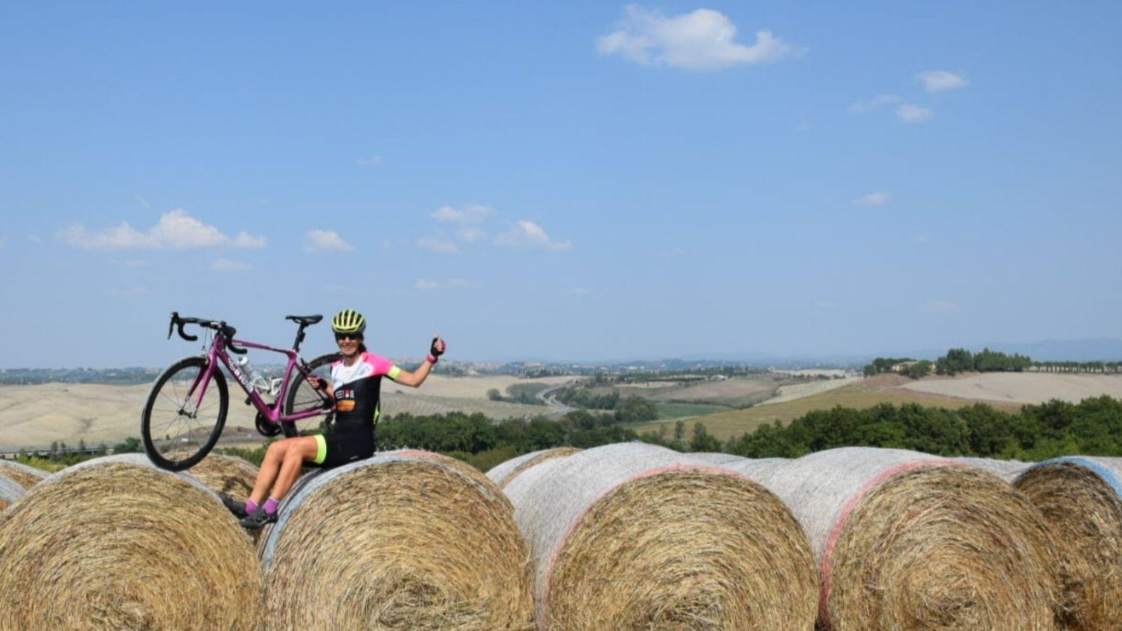 Paola Gianotti ha visitato in bicicletta 91 nazioni nel mondo