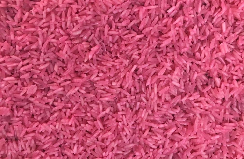 Il pink poke del ristorante Nima Sushi di Milano, in omaggio al Giro d'Italia 2020