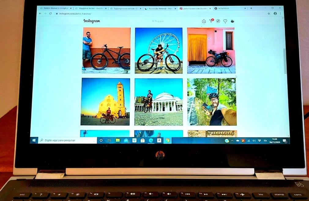 Cicloturismo: i profili dei cicloviaggiatori italiani su Instagram