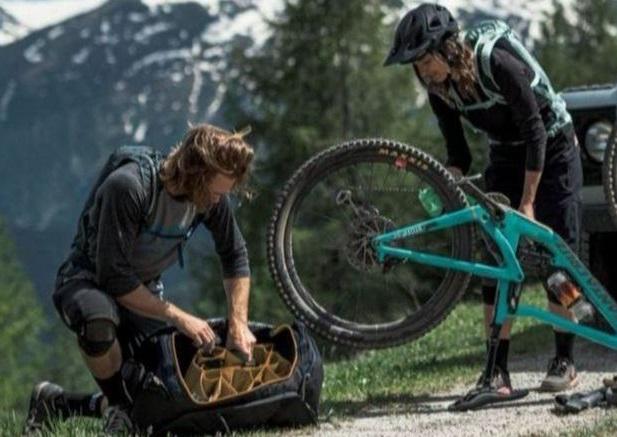 thule borsa roundtrip bike duffel
