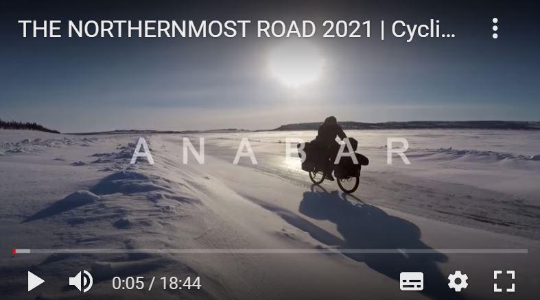 video lorenzo barone siberia bicicletta